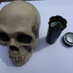 Inside the Geocache Skull